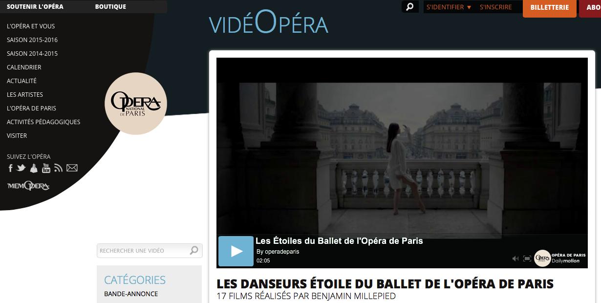 Opéra National de Paris | VidéOpéra