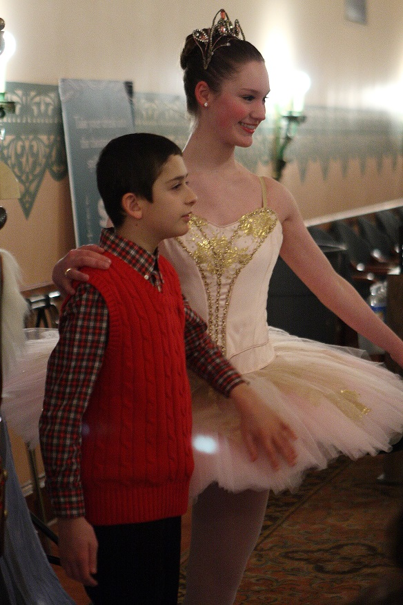 Meeting Dancers at Pittsburgh Ballet Theatre's Sensory-Friendly Nutcracker | Photo by Shelby Vogel