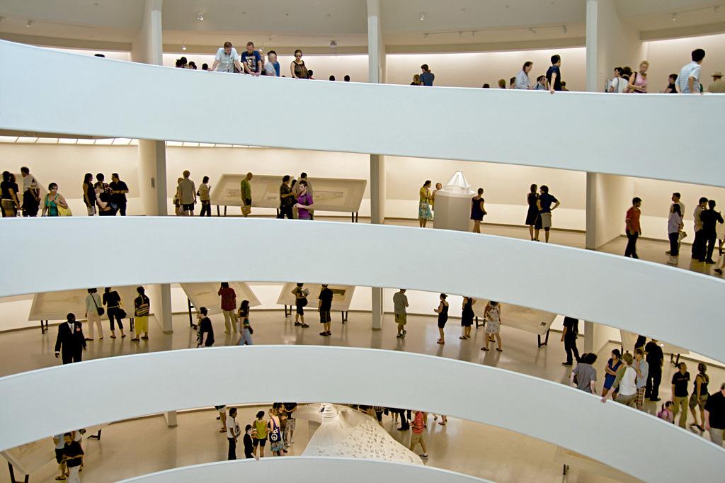Solomon R. Guggenheim Museum,  wikipedia.org