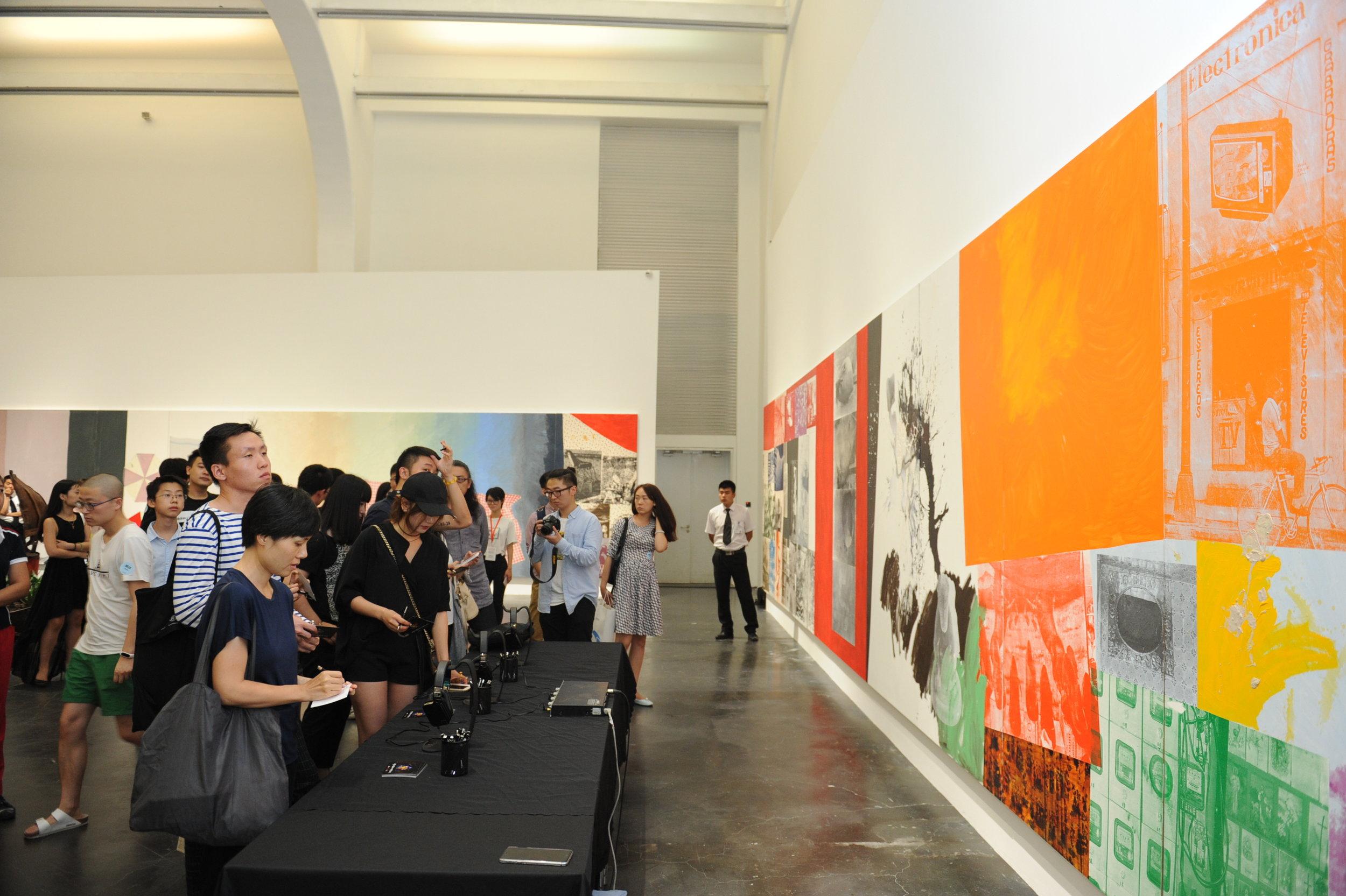 Ullens Center for Contemporary Art. (Photo Courtesy of Ullens Center for Contemporary Art)