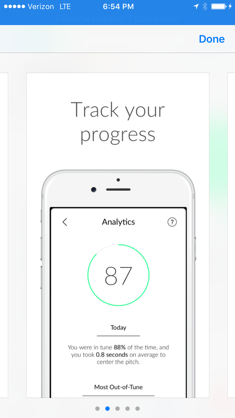 Pitch App Screenshot from Apple Store