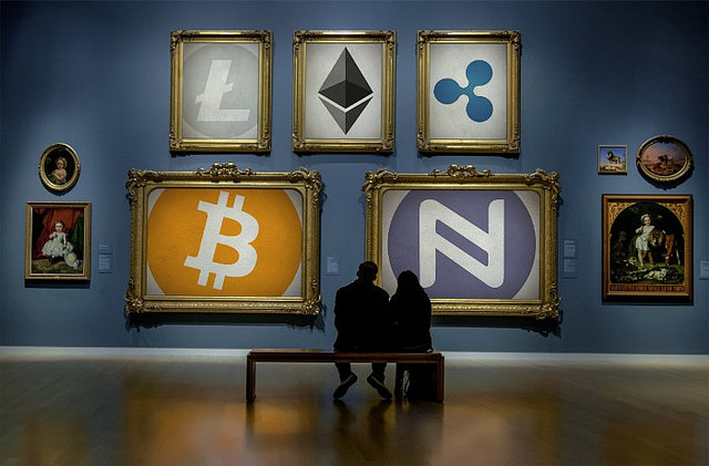 """""""Cryptocurrency Art Gallery"""" by  Namecoin is licensed under  CC BY 2.0"""