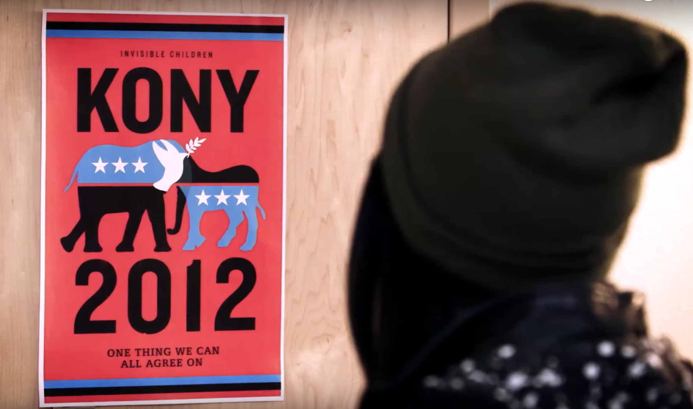 """Source: Screenshot by author from """" KONY 2012 """" YouTube video."""