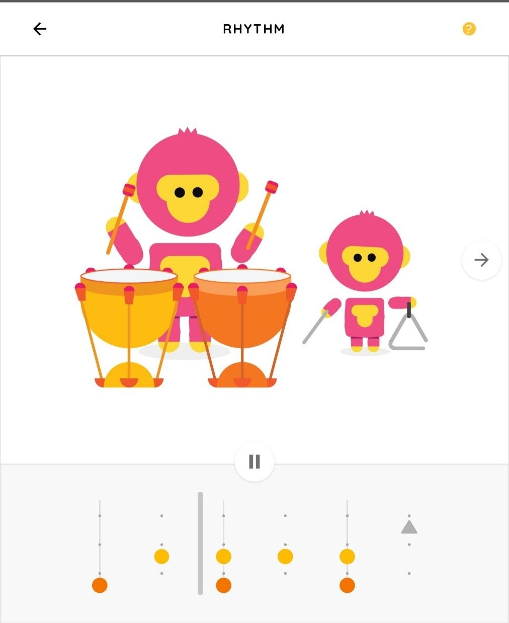 The rhythm experiment can be used to teach fractions and math skills