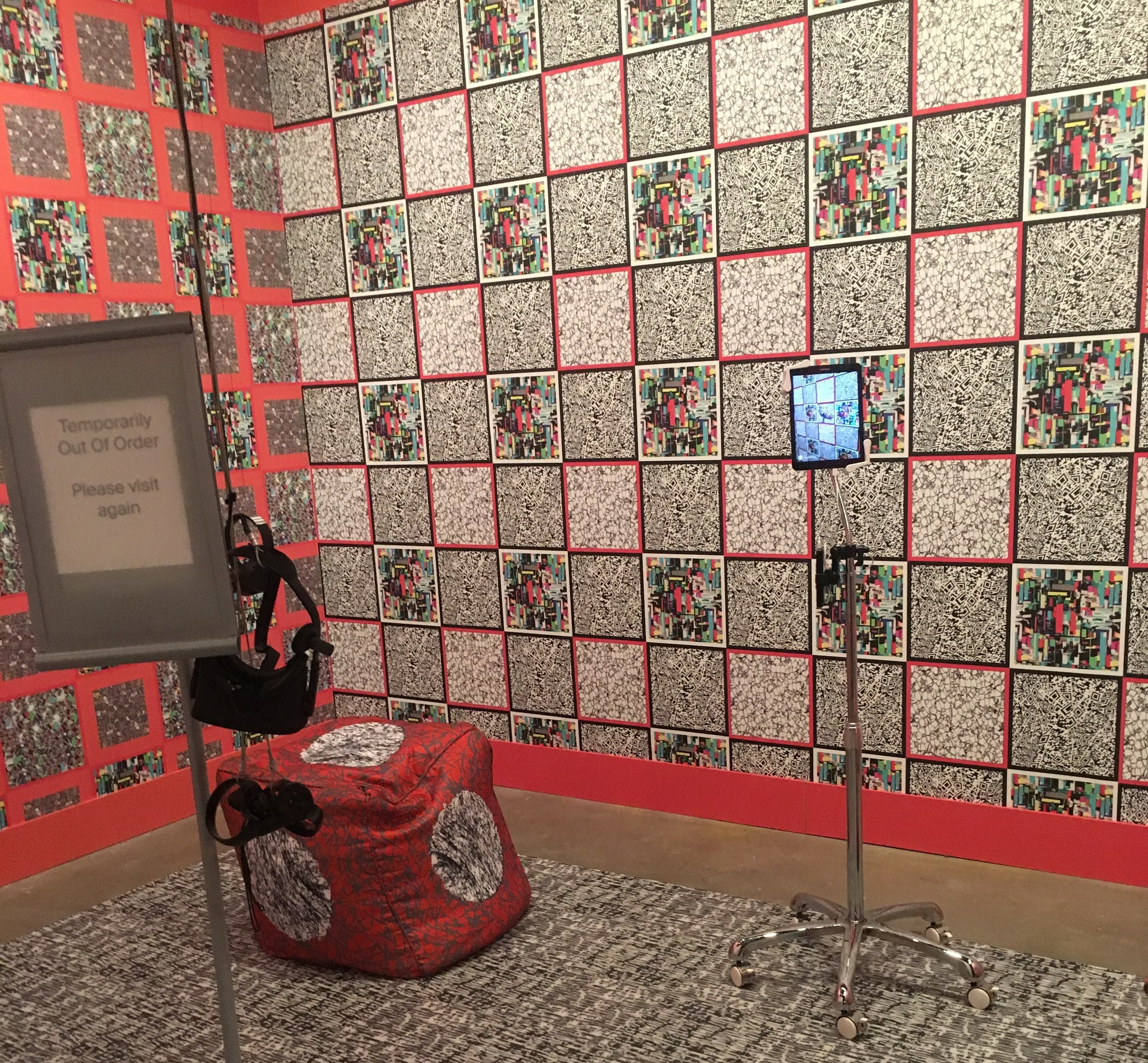 Interactive work from the Paradox exhibit.