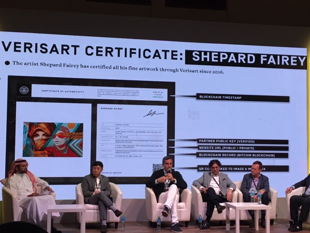 Robert Norton, CEO and Co Founder of Verisart, explains how the art registry works.
