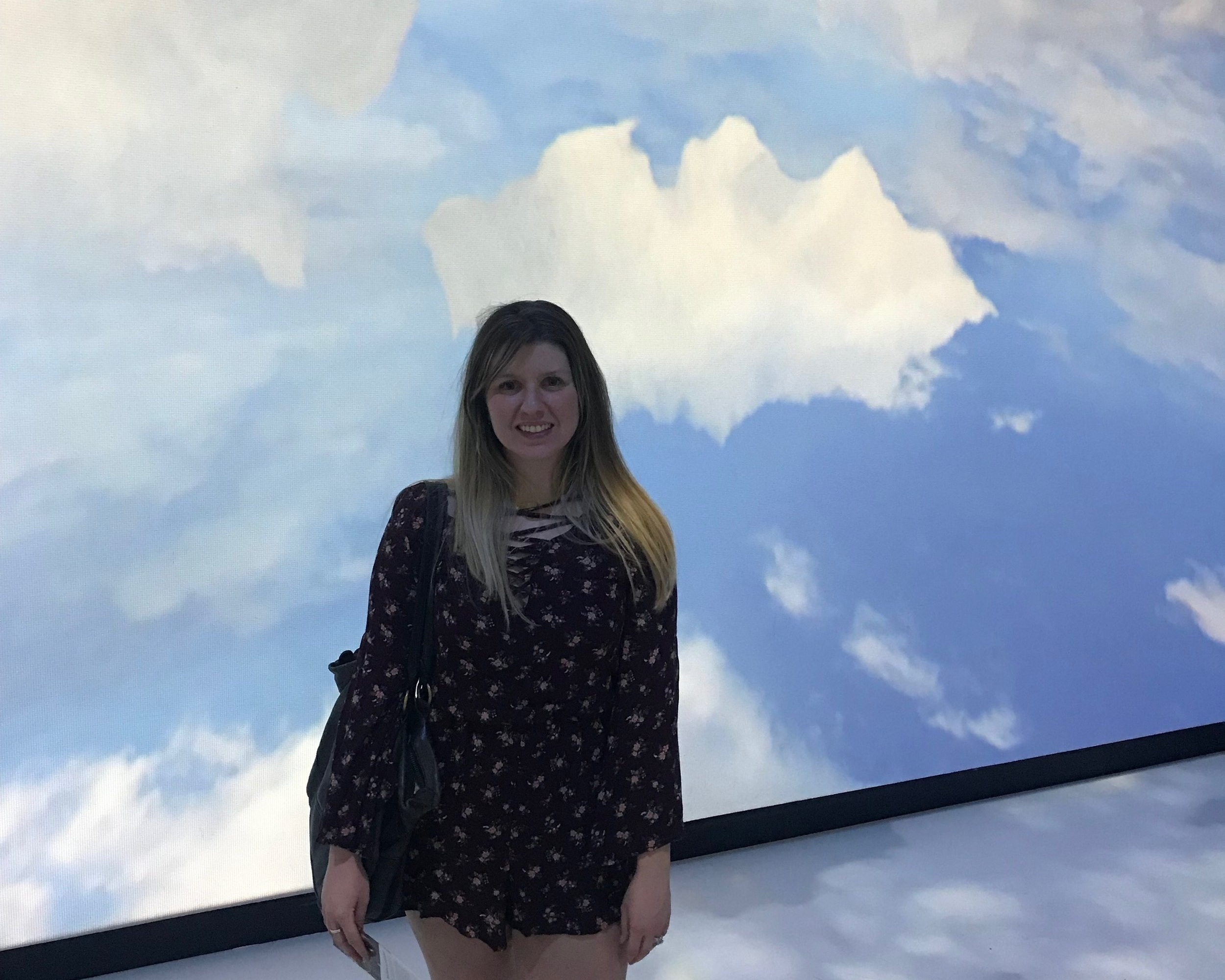 """Cloud Room"" at the Dali Museum"