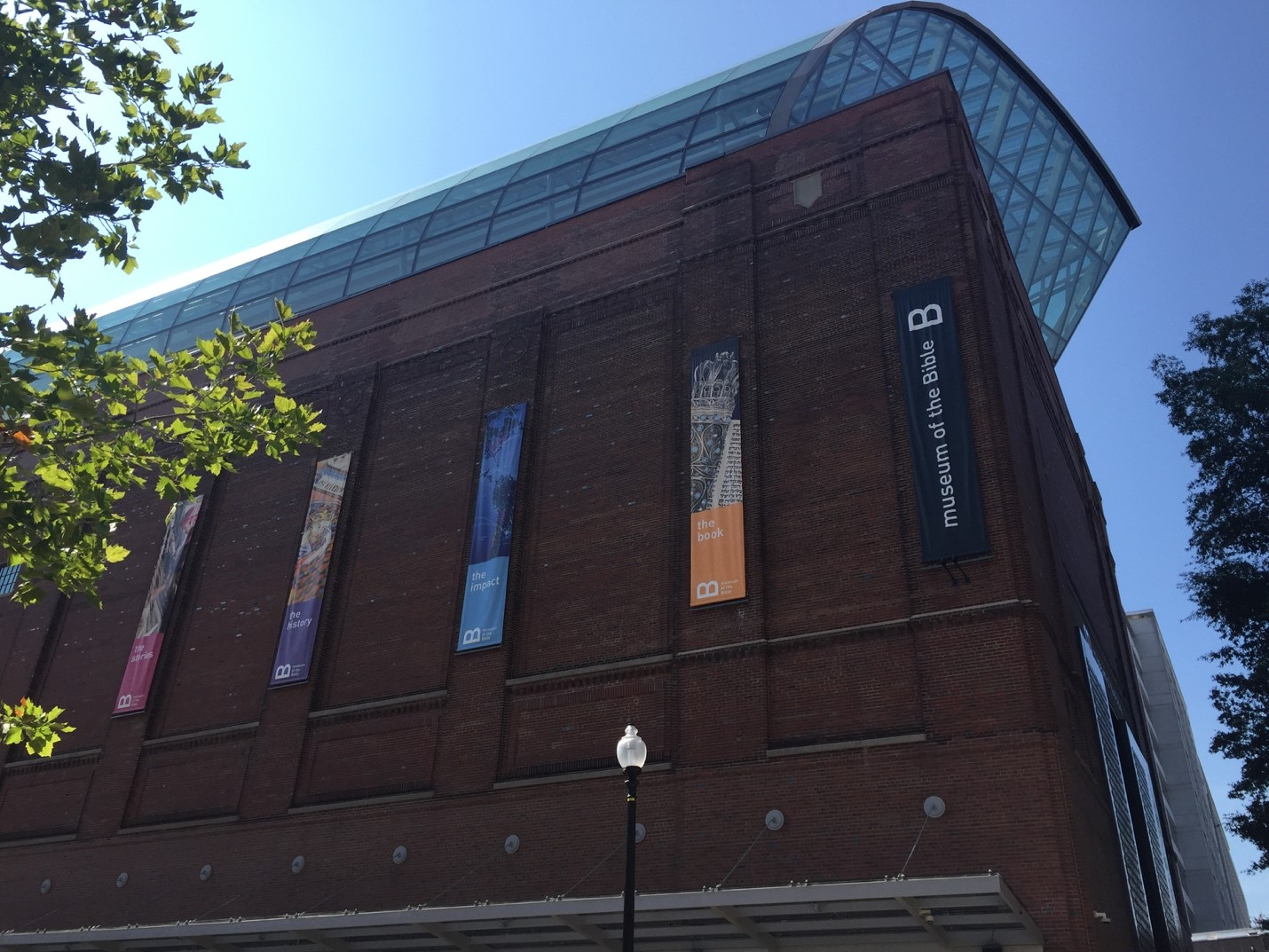 The Museum of the Bible at 400 4th Street SW in Washington, DC  Photo Credit: Michaela Kizershot White