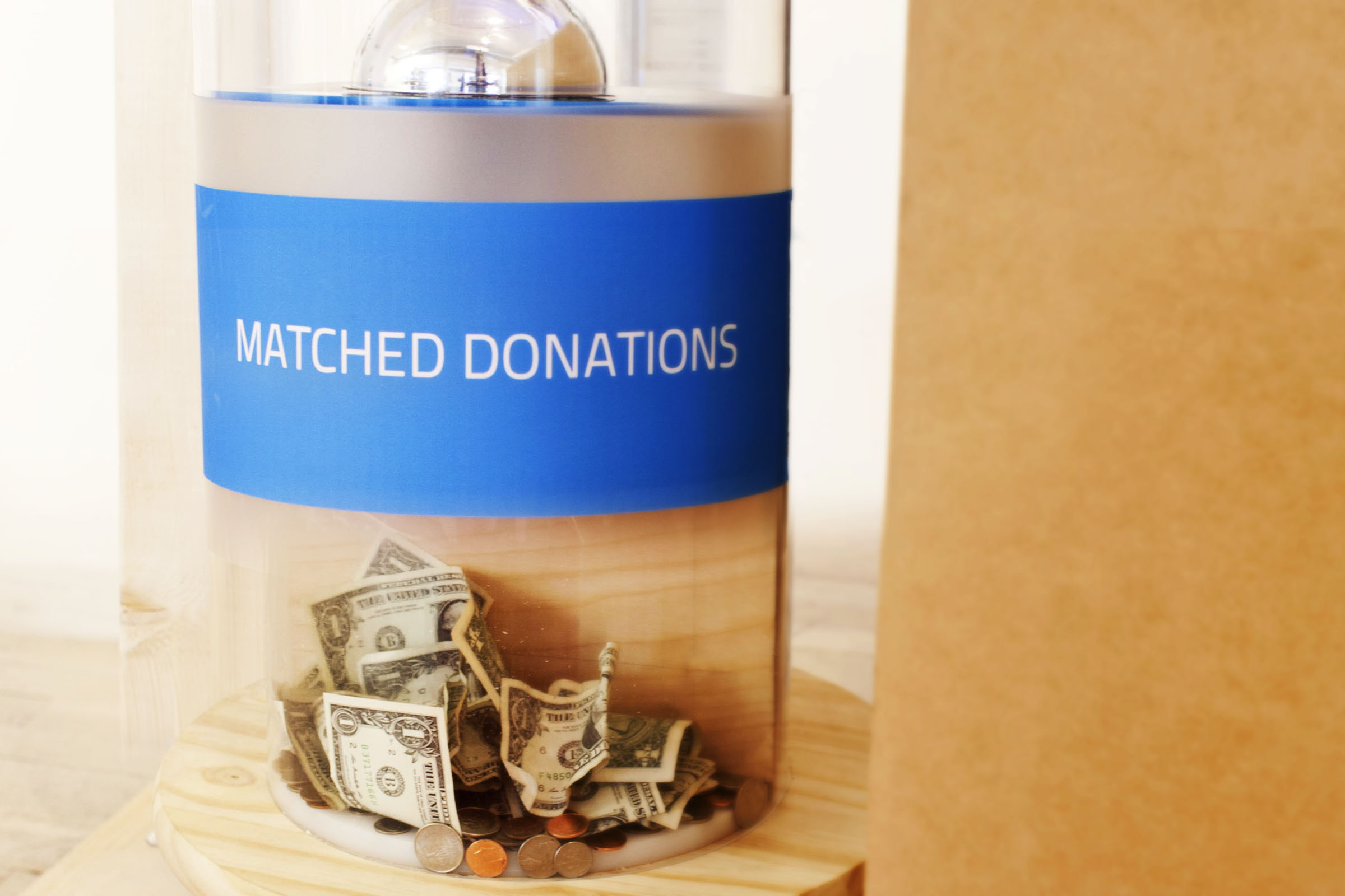 Donations are made in the name of the Wounded Warrior Project and matched by a third party...