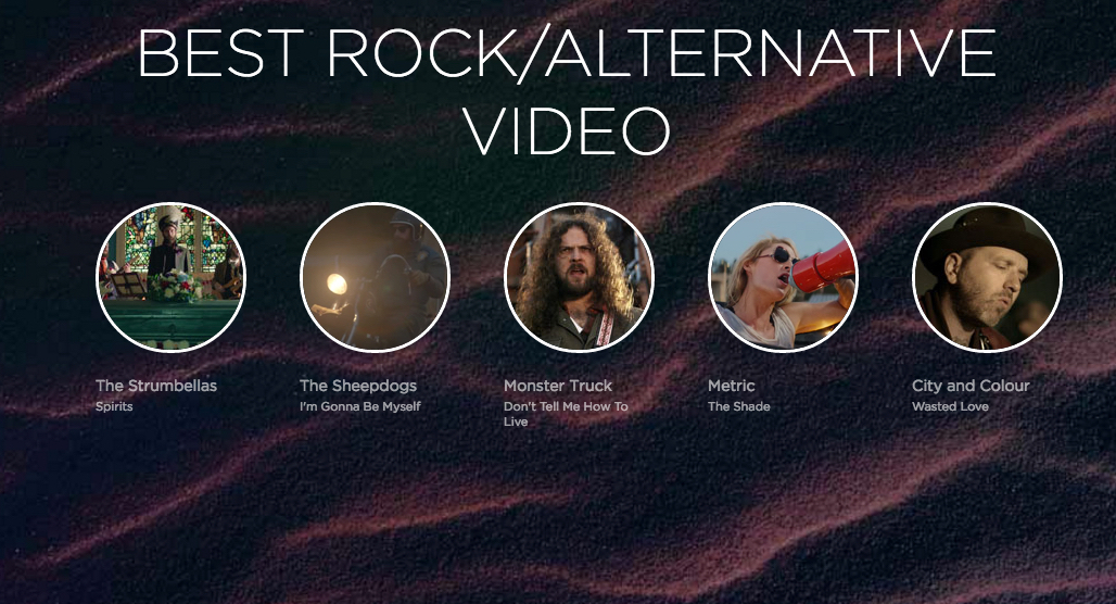 """Spirits"" Nominated for Best Rock / Alternative Video!"