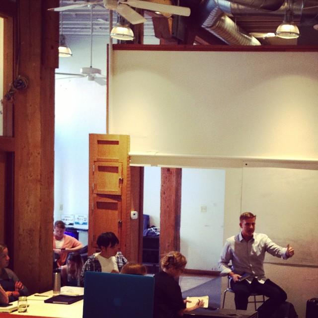 Sean Ellis mentor session at Tradecraft.
