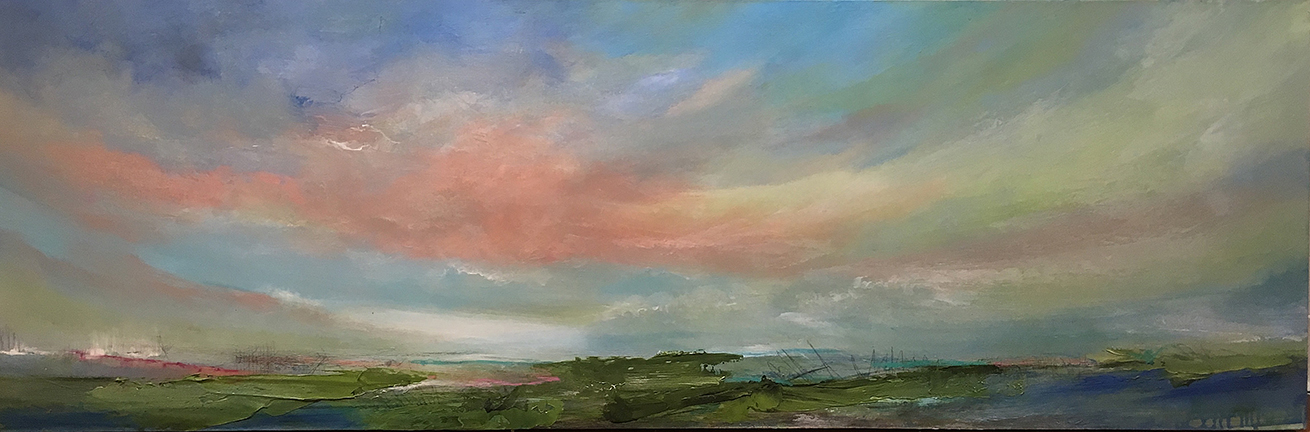 Moody Blues, 20 x 60 inches