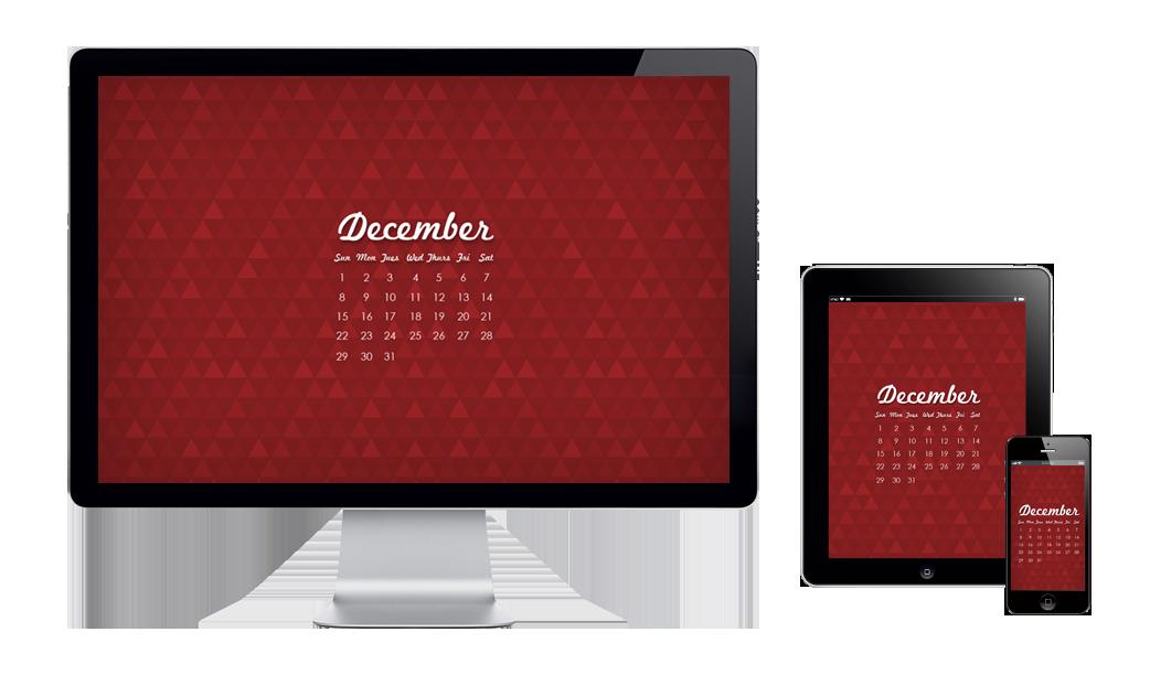 Dever Graphic Design Six Leaf Design December Free Wallpaper