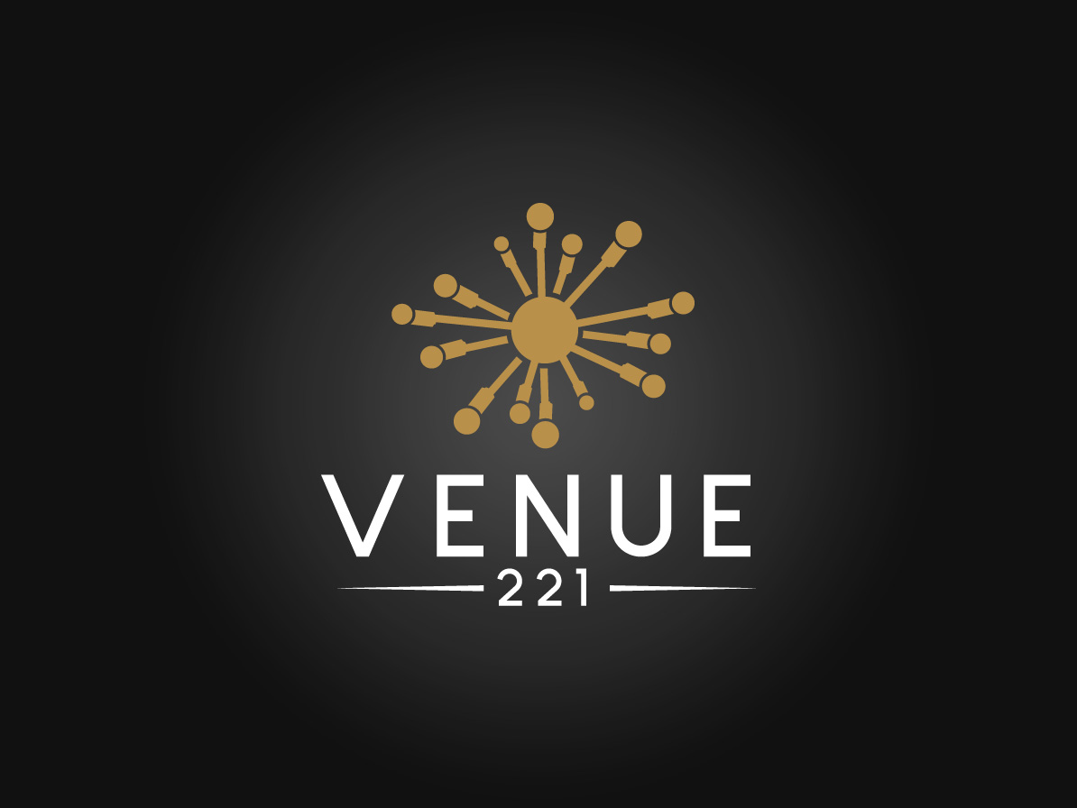 Venue 221 Logo Design