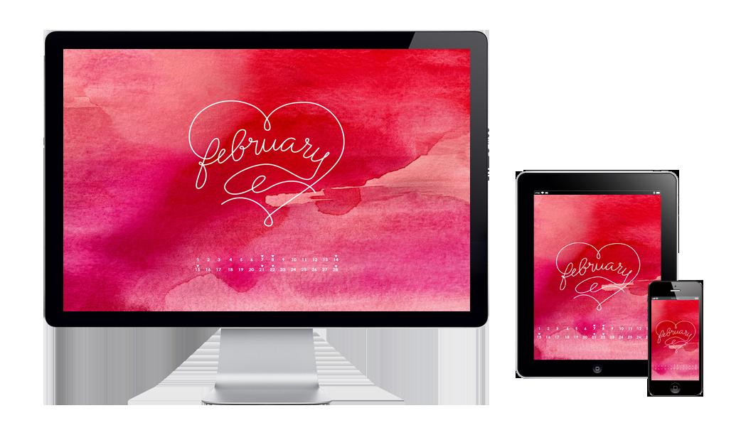 six leaf graphic design free wallpaper february 2015