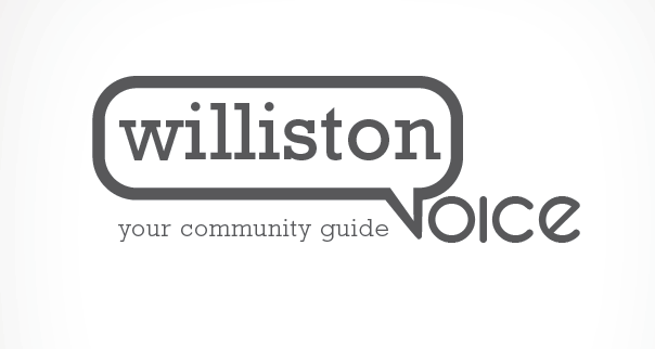 Round 1 - logo design   concept for Williston Voice