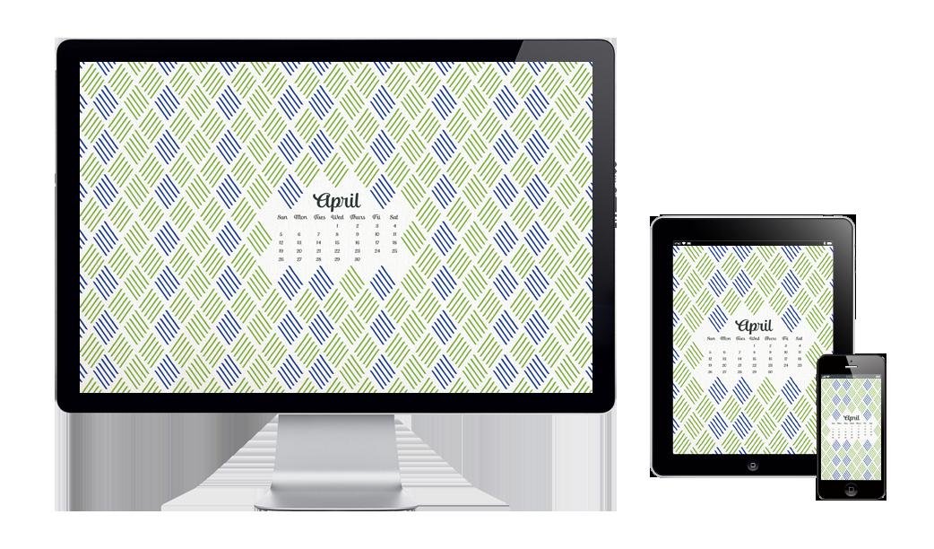 six leaf graphic design free digital wallpaper april 2015