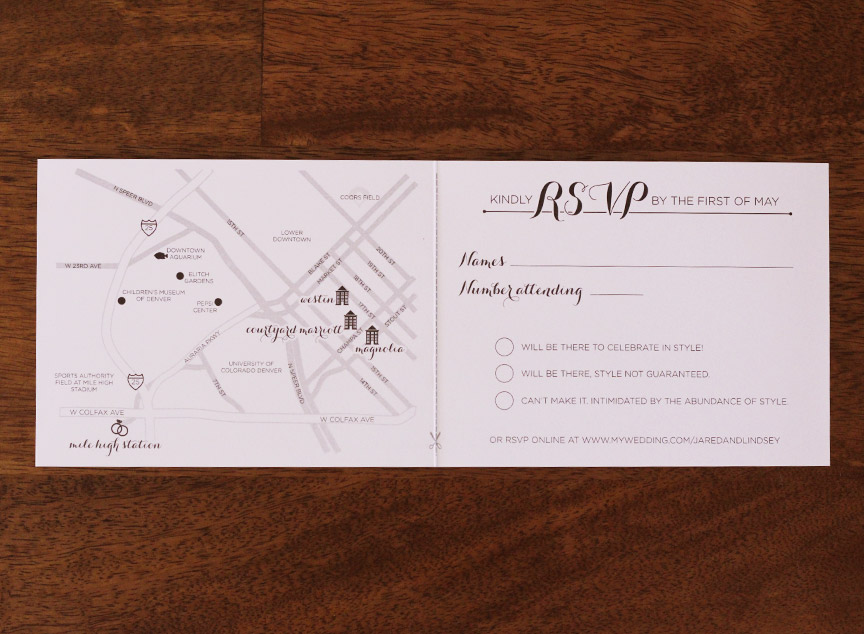 Map and RSVP full view