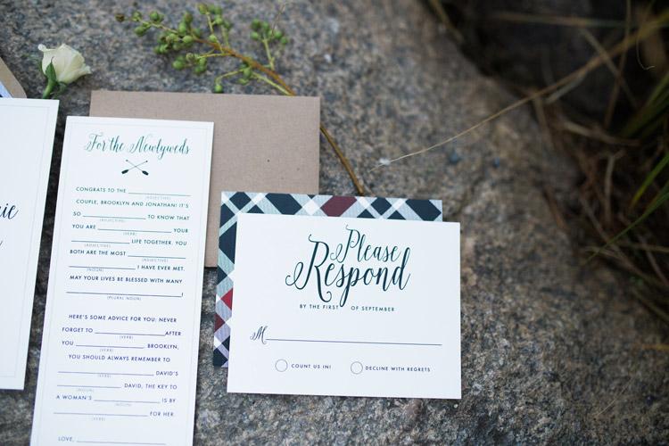 Rustic Wedding Invitation Design | Mt. Evans, Colorado Wedding Styled Photo Shoot