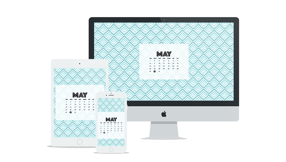 Free Digital Wallpaper Design for May 2016