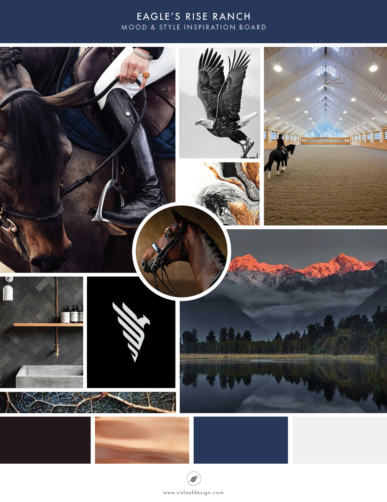 How To Start Your Brand With A Mood Board | Mood & Style Inspiration for Dressage & Horse Training Ranch