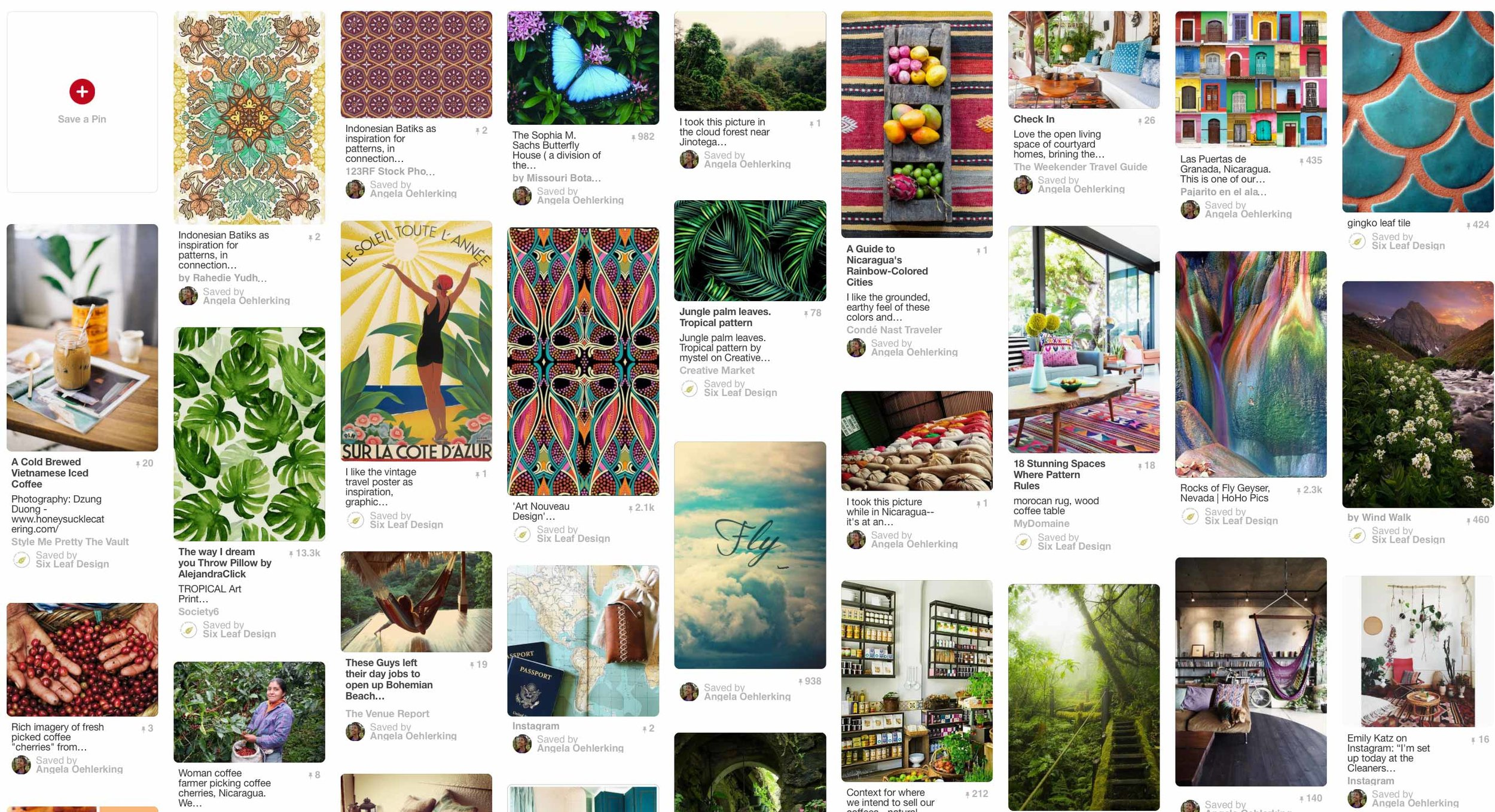 How To Start Your Brand With A Mood Board on Pinterest