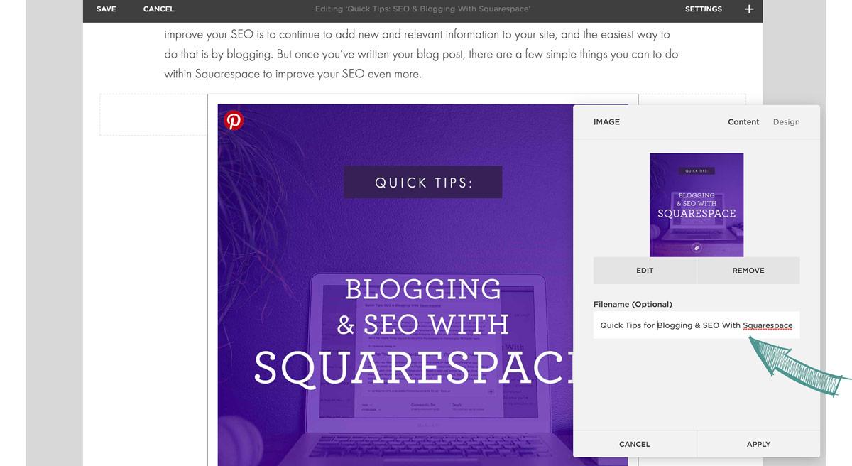 Quick Tips for Blogging & SEO With Squarespace | Six Leaf Design | Freelance Graphic Designer in Denver, Colorado