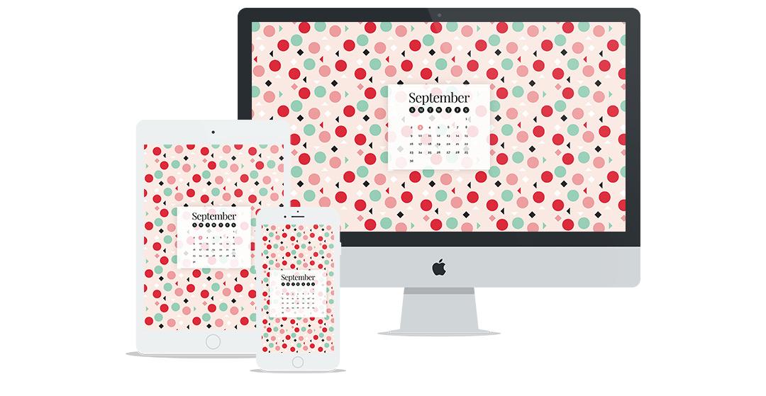 Free Wallpaper Design for September 2018
