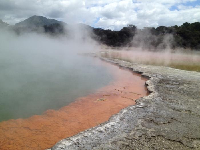 Champagne Pool, Rotorua New Zealand
