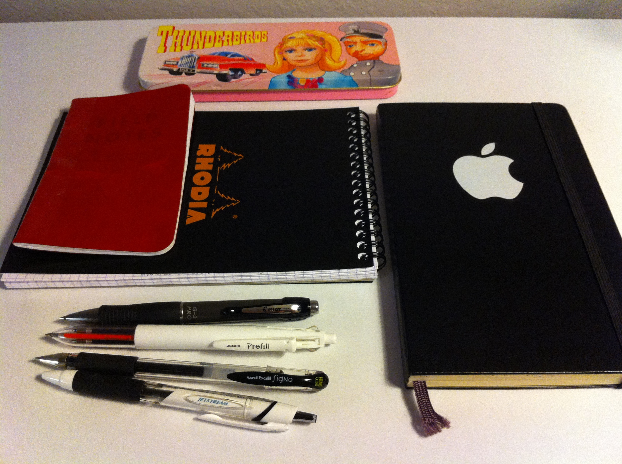 Pens, Pads, Parker and Penelope
