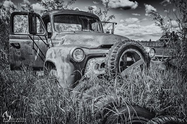 A hidden treasure on the grounds of the @stonyplainpioneermuseum #photography #art #explorealberta #travelalberta #ExploreParkland #meanwhileinalberta #canadasworld #ImagesofCanada #landscape #landscape_captures #Canada #Alberta #visualsoflife #rural #rural_love #ruralexploration #rurallife #heritage #farm #farmlife #farming #abandoned #vintage #vintagetruck #vintageequipment #Nikon #D810 #MyStonyPlain