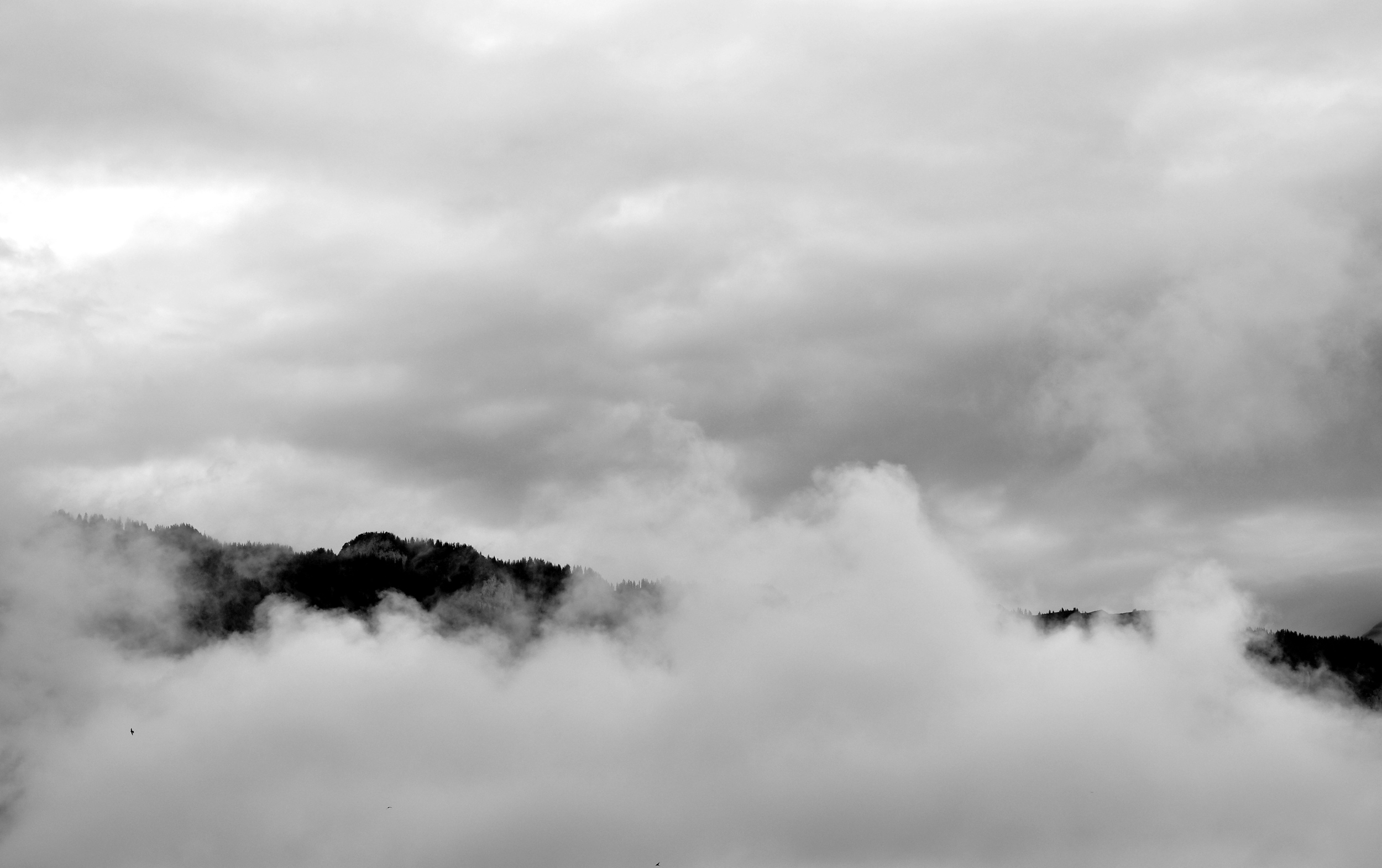 Cloud Cover, the Alps