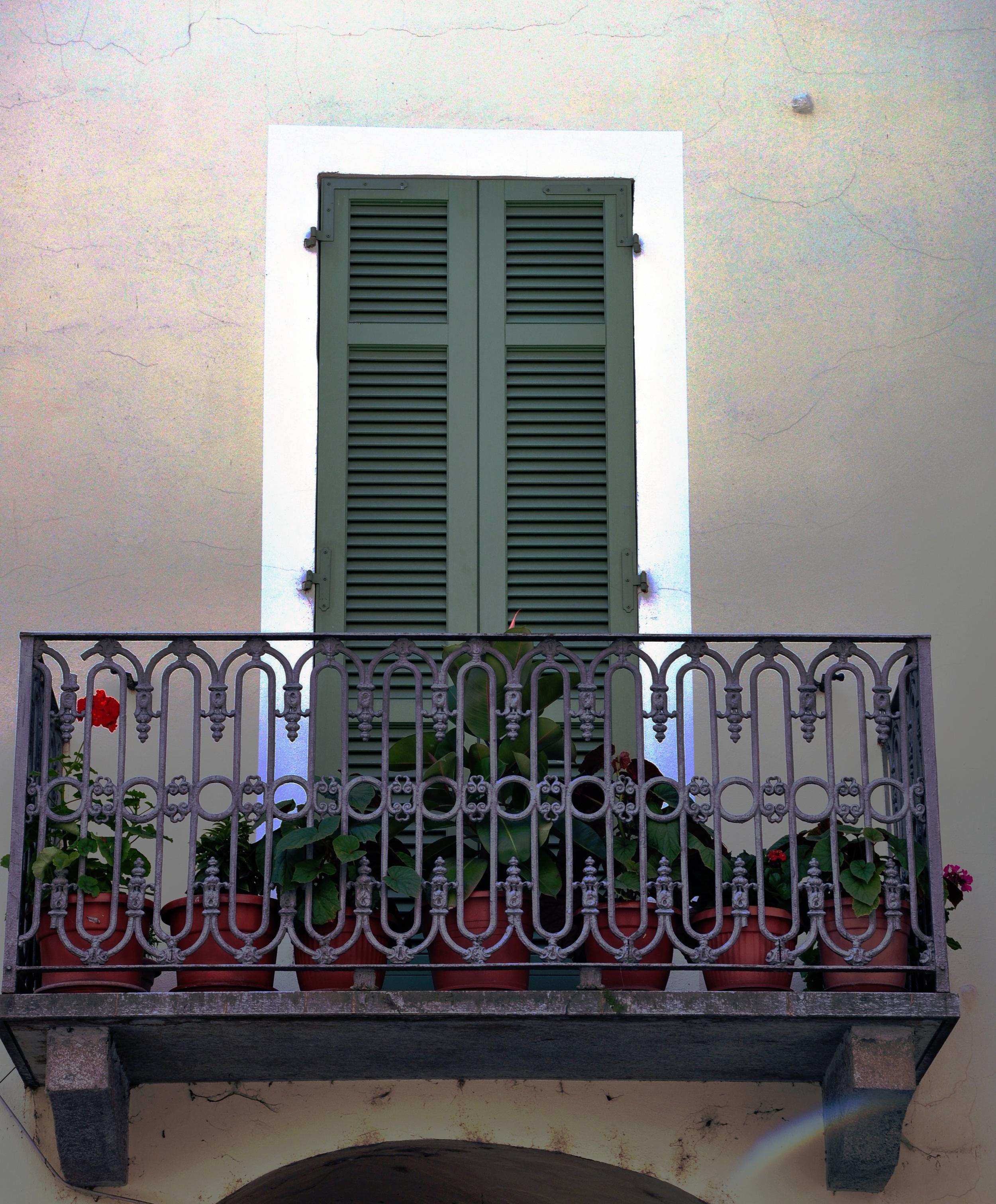 Balcony in Nizza Monferrato