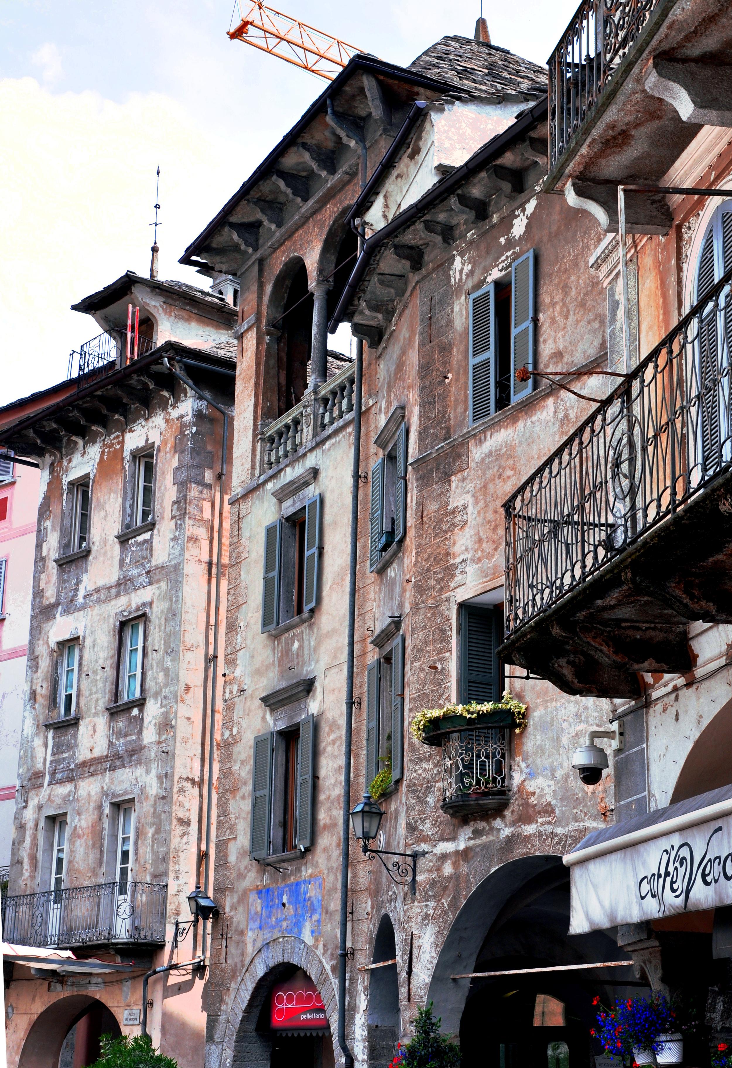 Domodossola architecture  ©Copyright 2015Bridget Barnes