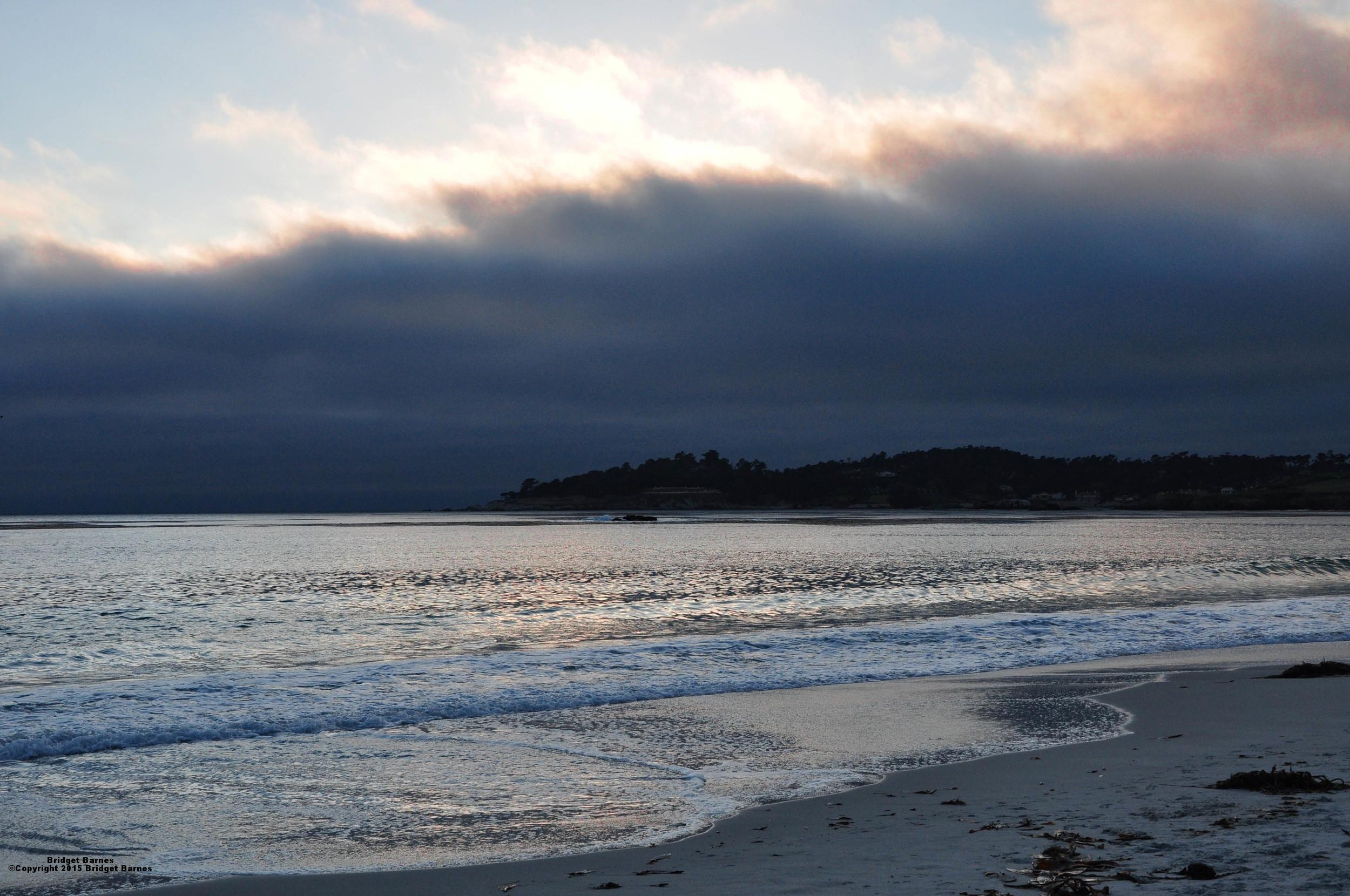 Monterey, California at Dusk  ©Copyright 2015 Bridget Barnes