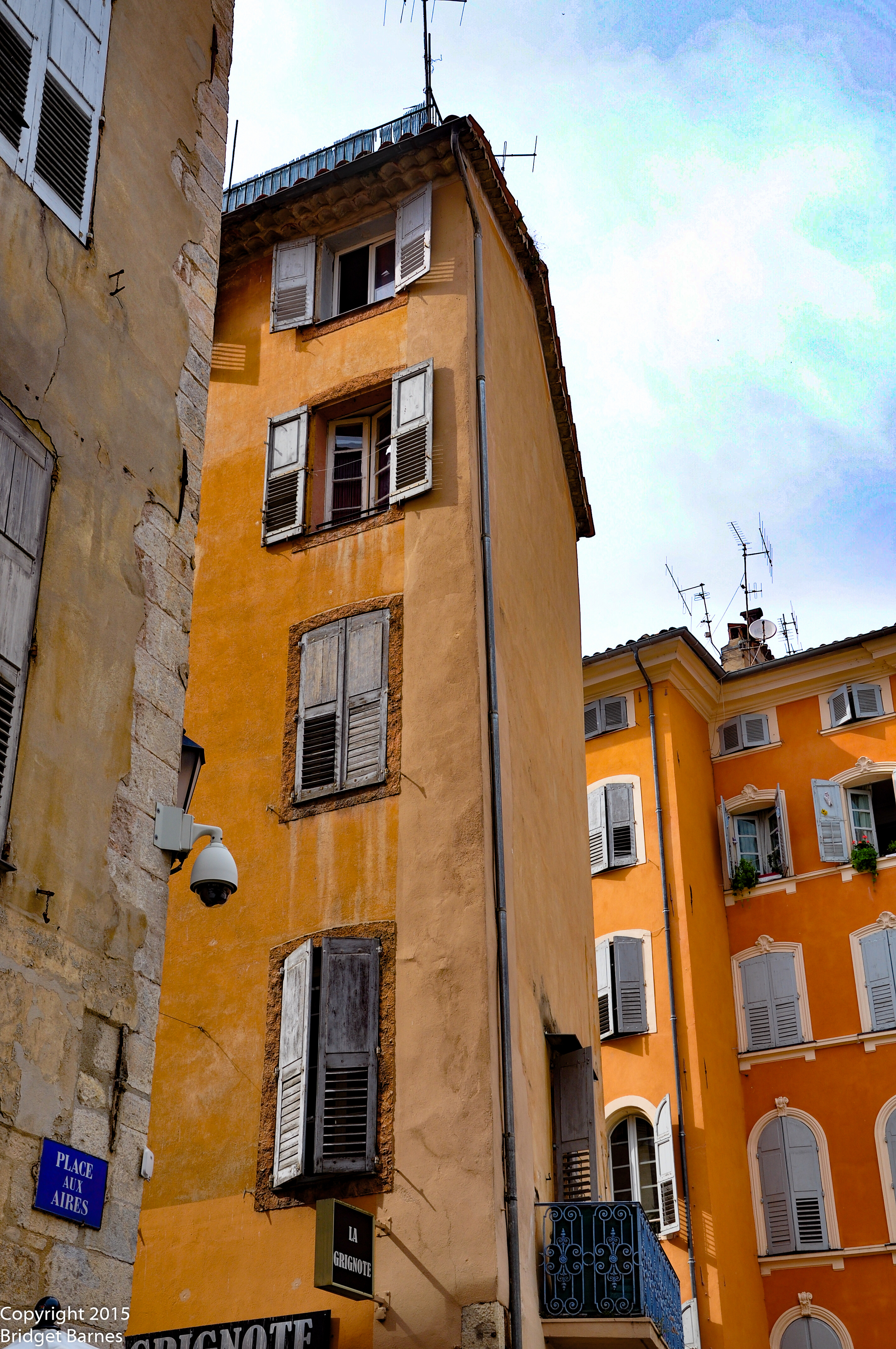Gorgeous Colors in Grasse, France