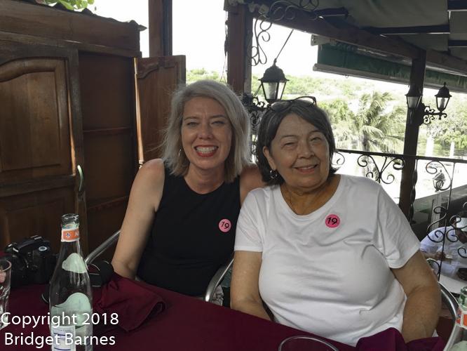 Lunch at La Moneda Cubana, 18 June 2018
