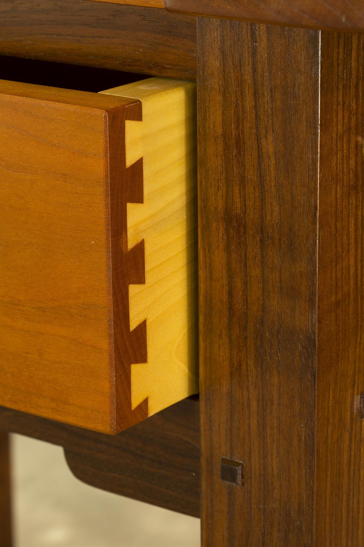 Cherry Drawer Front & Dovetail Joinery