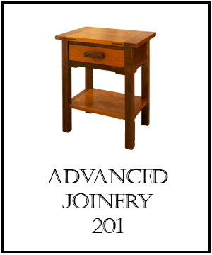NOTE   : Only graduates of our  Practical Woodworking course  are eligible for a seat in our Advanced Joinery course