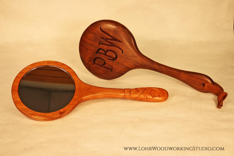 Cherry & Walnut Hand Mirrors (Lohr watermark).jpg