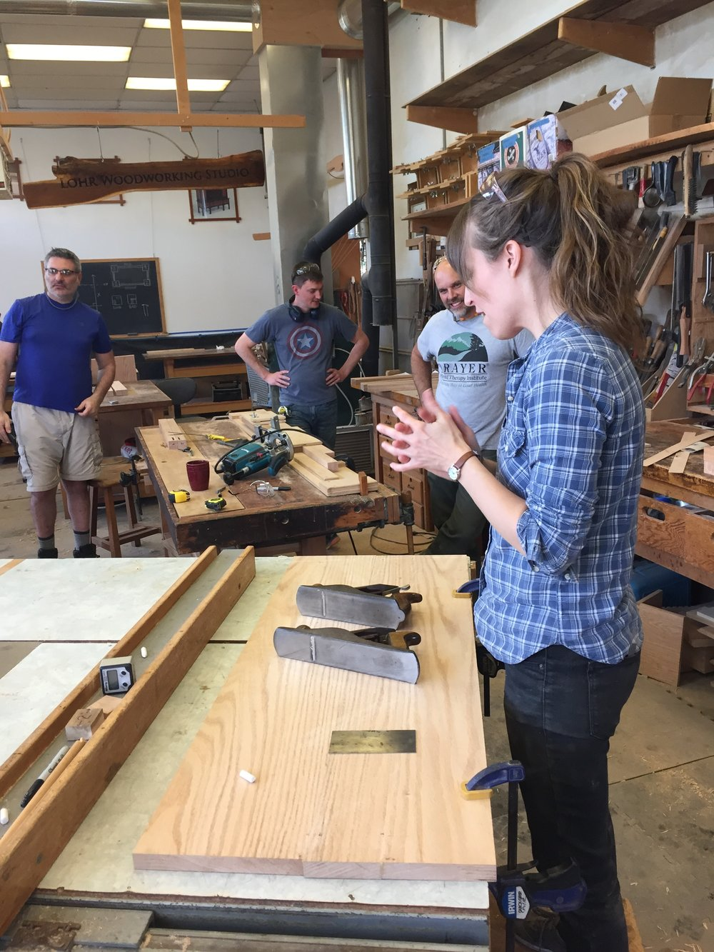 course overview — lohr school of woodworking
