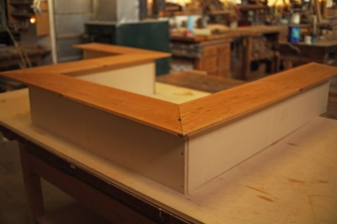 A Modern Cherry Bar Top