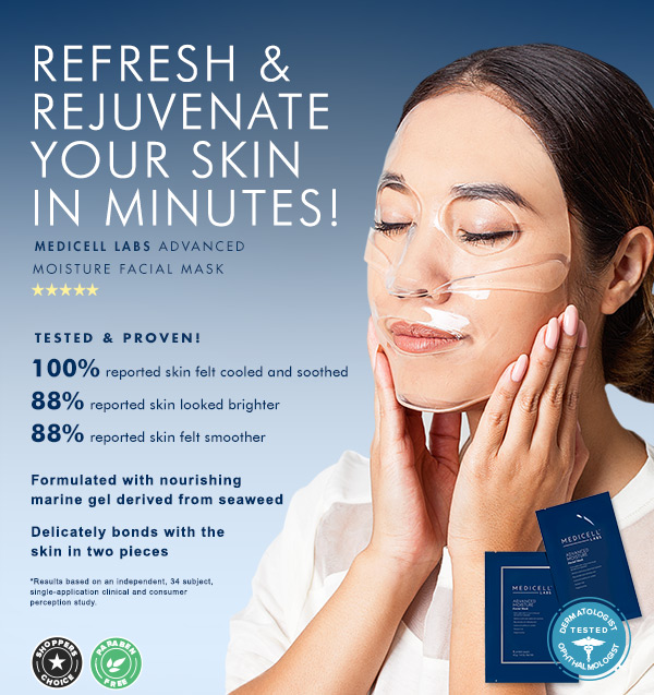 medicell labs advanced moisture facial mask