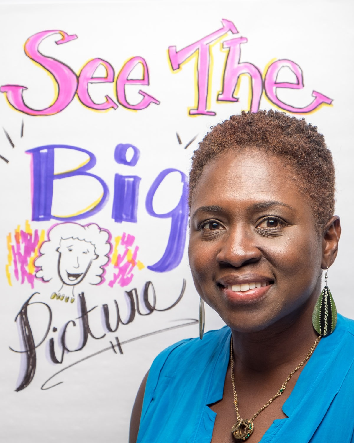 Lisa Nelson helps clients see the big picture through graphic recording and graphic facilitation.