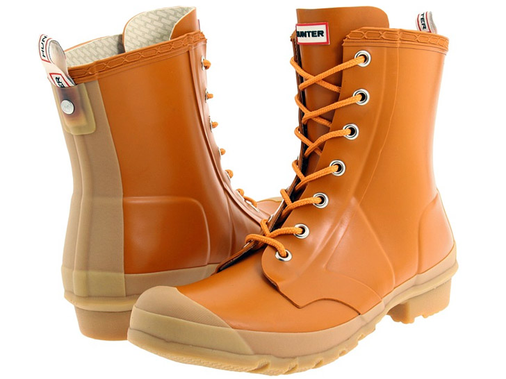 Hunter Boot Men's Bormio in Spice and Gum