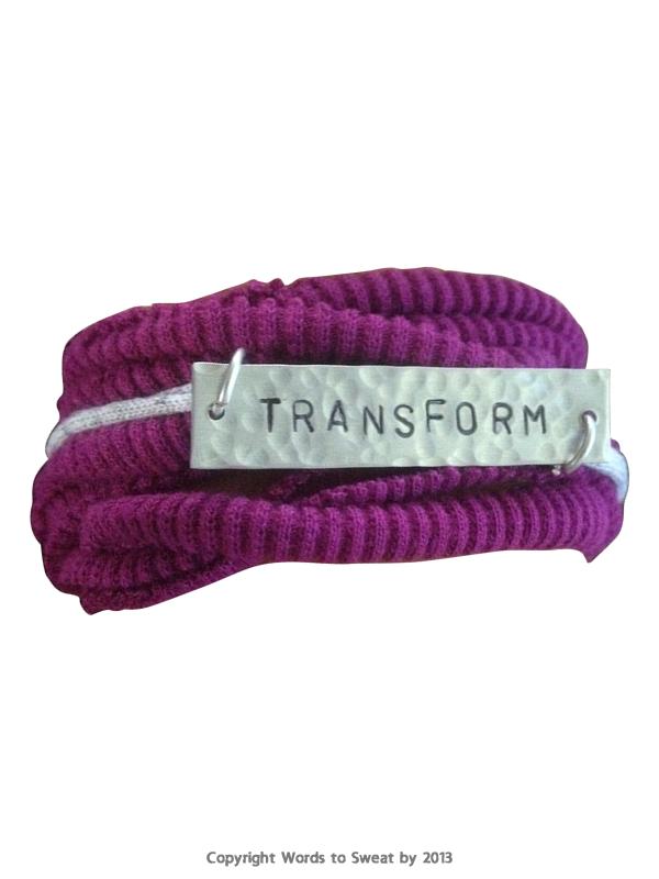 Words To Sweat By Transform Bracelet