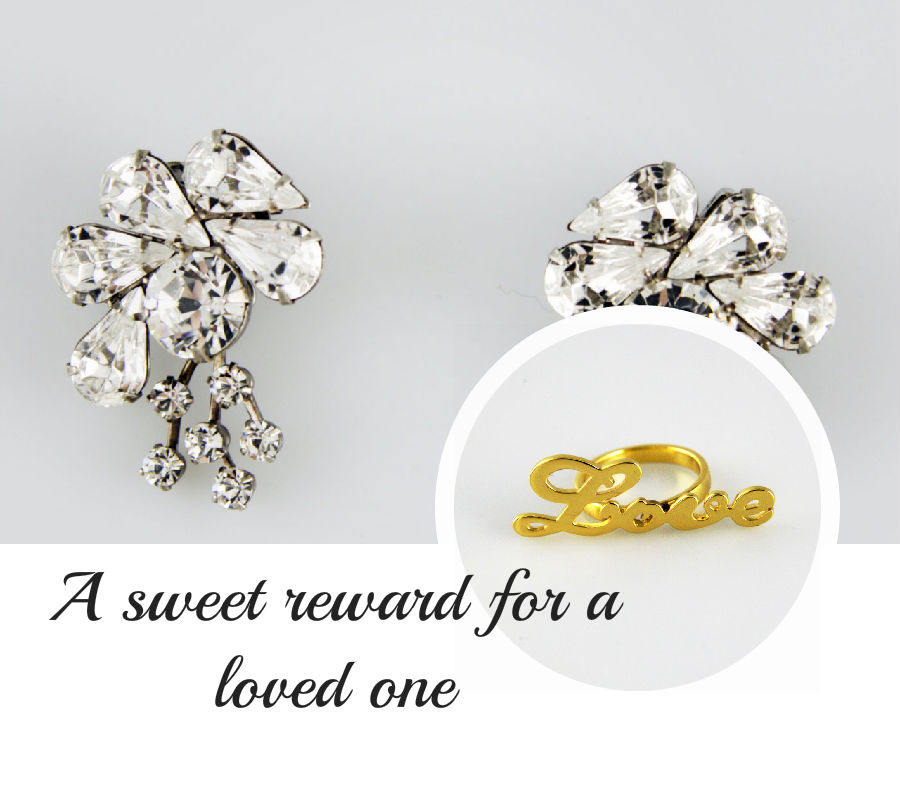 Has your honey just completed her first 5K, mud runner or tri? Reweard her with these delicate pieces fromwww.designsbymillo.com