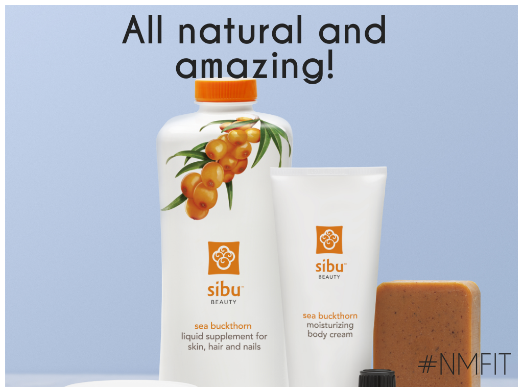 I adore Sibu beauty products! Sibu Beauty products are Paraben-FREE and Cruelty-FREE. No dairy, wheat, gluten, sodium, yeast or preservatives. The sea buckthorn is sourced through fair trade agreements with local harvesters in the Himalayas. www.sibubeauty.com/products