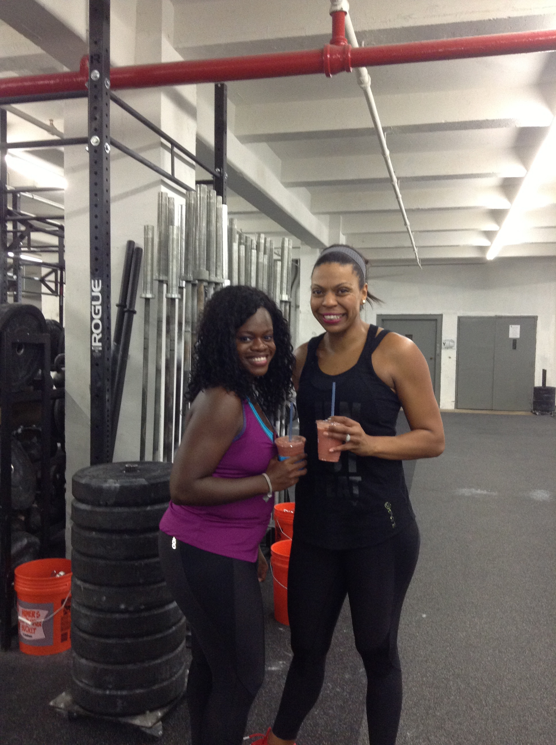 I love seeing  Brooklyn Active Mama  at NYC Fitness events!