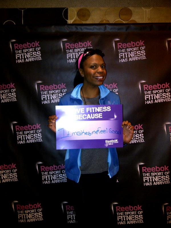 Attending health and fitness related events became a regular thing for me!